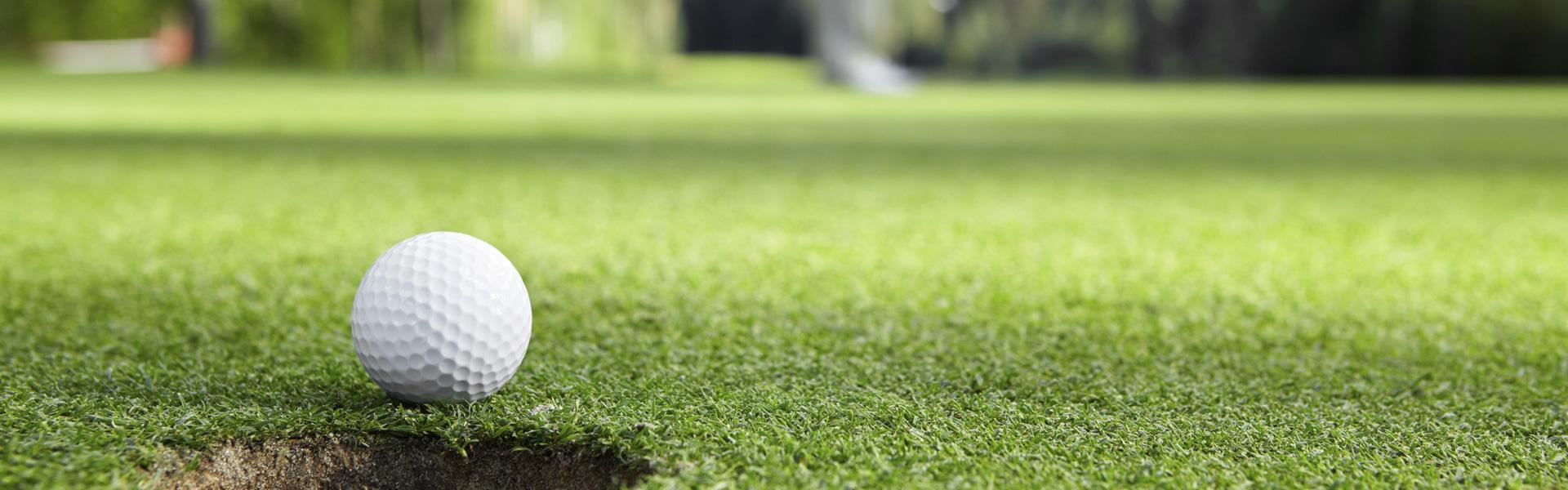Césped artificial para el golf